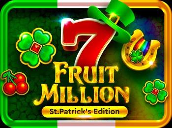 1win fruit million St.Patrick's Edition